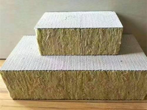 岩棉复合板的特点